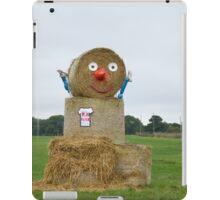 Straw Bale Figure iPad Case/Skin