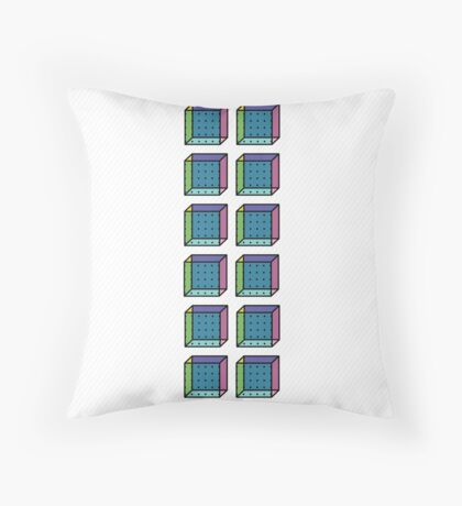 TETRIS COLLECTION Shape A Throw Pillow