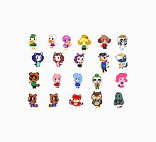 Animal Crossing- NPCS sheet Unisex T-Shirt