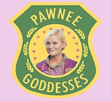 Leslie Knope Pawnee Goddesses Badge by SailorMeg
