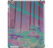 Palm House Orchids in Purple and Blue iPad Case/Skin
