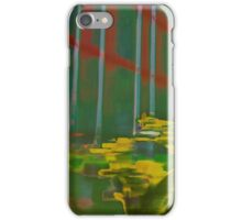 Palm House Orchids in Green and Yellow iPhone Case/Skin