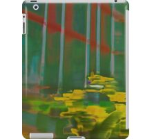 Palm House Orchids in Green and Yellow iPad Case/Skin