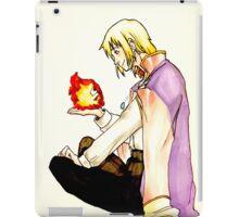 Heart on fire iPad Case/Skin