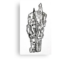 Bark Illustration Metal Print