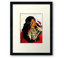 Trickster goddess Framed Print