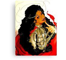 Trickster goddess Canvas Print