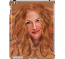 Julorobani - abstract digital portrait iPad Case/Skin