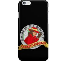 Carmen Sandiego iPhone Case/Skin