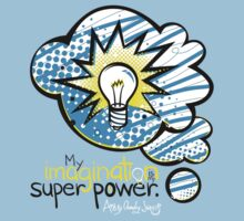 My Imagination is My Super Power Baby Tee