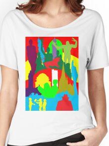 BIRMINGHAM (ENGLAND) SKYLINES Women's Relaxed Fit T-Shirt