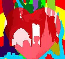 BIRMINGHAM (ENGLAND) THE BIG HEART by FieryFinn77