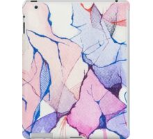 watercolor ink iPad Case/Skin