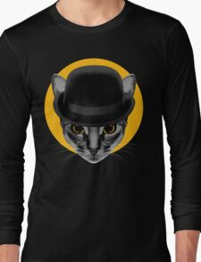 A Clockwork Cat Long Sleeve T-Shirt