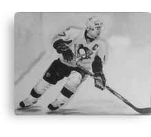 Paniting of Sidney Crosby, NHL- Players Canvas Print