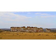 Monument Rocks in Western Kansas Photographic Print