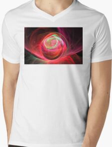 Rosebud Mens V-Neck T-Shirt