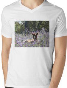 New Life  Mens V-Neck T-Shirt