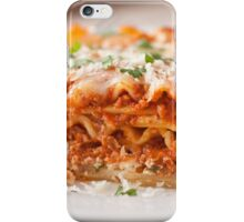 High Quality lasagna iPhone Case/Skin