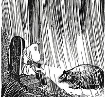 Moominmama and the Muskrat Philosopher by mrtart