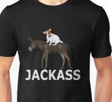 Donkey+Jack Russell=JackAss Unisex T-Shirt