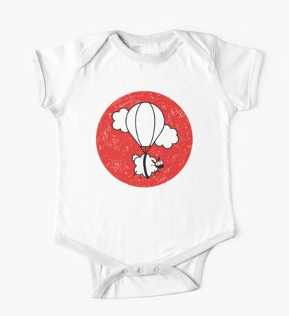 Up In The Air, Junior Illustrator One Piece - Short Sleeve