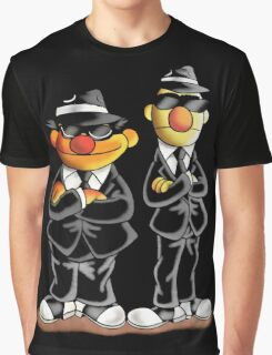 Ernie und Bernt - Blues Brothers  Graphic T-Shirt