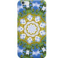Floral Sun iPhone Case/Skin