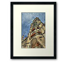 Munich - Marienplatz Framed Print