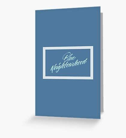 Troye Sivan + BLUE NEIGHBORHOOD  Greeting Card