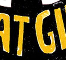 bat girlq Sticker