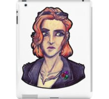 Punk!Scully iPad Case/Skin