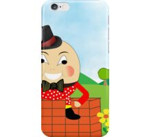 Cute Humpty Dumpty Kids Nursery Rhyme Theme iPhone Case/Skin