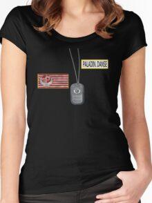Paladin Danse T Shirt Women's Fitted Scoop T-Shirt