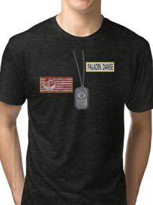 Paladin Danse T Shirt Tri-blend T-Shirt