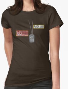 Paladin Danse T Shirt Womens Fitted T-Shirt