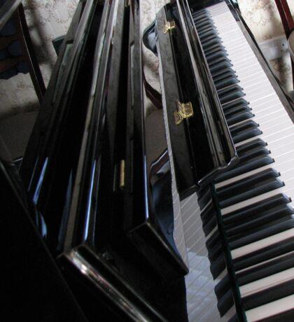 The Ebony and the Ivory - Piano Reflections Sticker