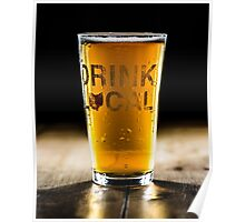 Drink Local 1 Poster