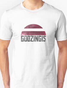 Godzingis (black) Unisex T-Shirt