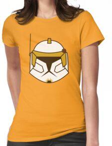 Chibi Commander Cody Helmet Womens Fitted T-Shirt