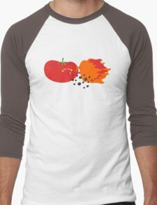 Tomato and friends Men's Baseball ¾ T-Shirt