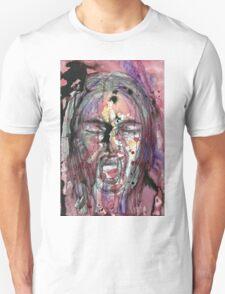 A Watercolor Scream Unisex T-Shirt
