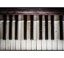 Piano 2 Photographic Print