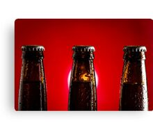 Beer Bottles Canvas Print