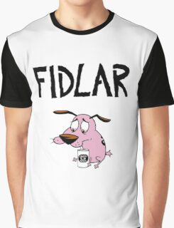 Fidlar, drunk Courage Graphic T-Shirt
