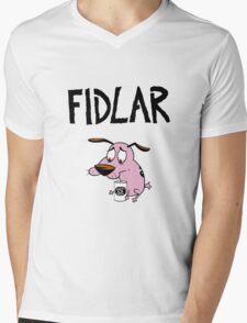 Fidlar, drunk Courage Mens V-Neck T-Shirt