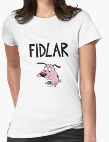 Fidlar, drunk Courage Womens Fitted T-Shirt