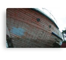 Wooden Hull Canvas Print