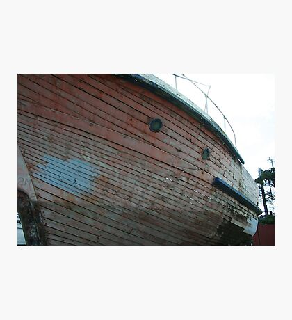 Wooden Hull Photographic Print