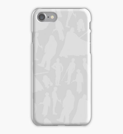 Print-cess Leia & Friends (in The Light Side Color Scheme) iPhone Case/Skin